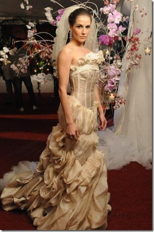 a favorita vestido de noiva maria do céu  - deborah secco
