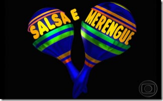 logotipo novela salsa e merengue