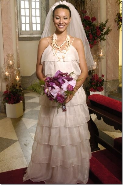 caras e bocas vestido de noiva milena