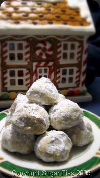 Review: Martha's Noel Nut Balls ~ Sugar Pies