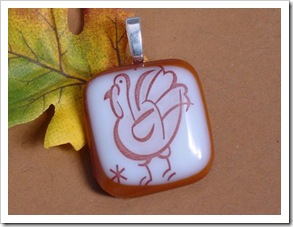 turkey pendant