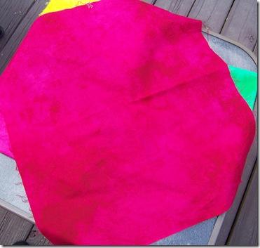 dyed fuchsia