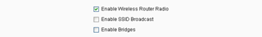4 disable ssid