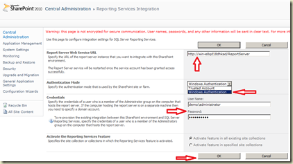 ReportingServicesIntegration