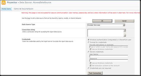 AccessDataSource