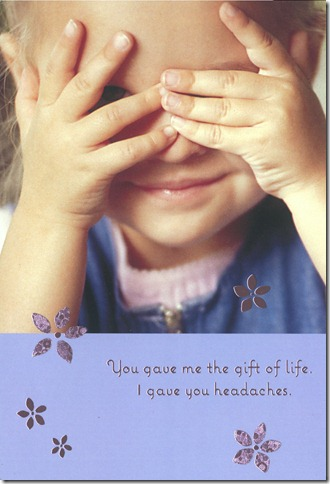 Mother's Day Postage-Paid Greeting (gift of life)