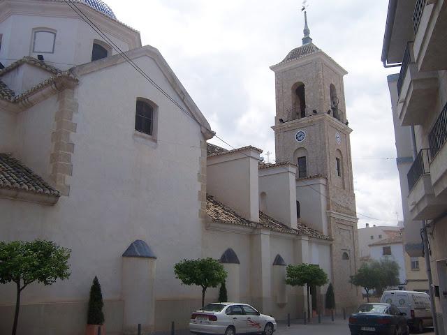 Iglesia de San Juan Bautista de Archena - Juan Pio Abenza