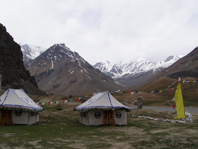 Poppy Valley Camp @ Sarchu