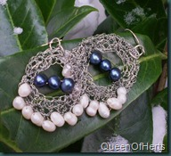 white&blue pearl earrings1