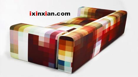 像素沙发,数码化家具-爱新鲜