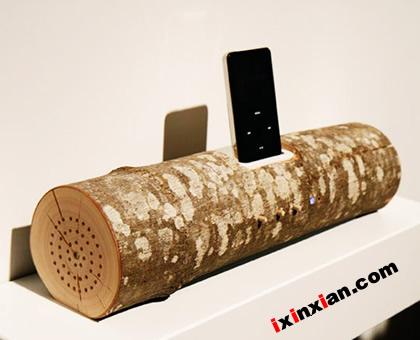 木质iPod音响-爱新鲜