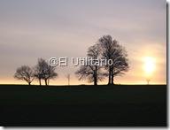Atardecer en Roundhay Park, Leeds