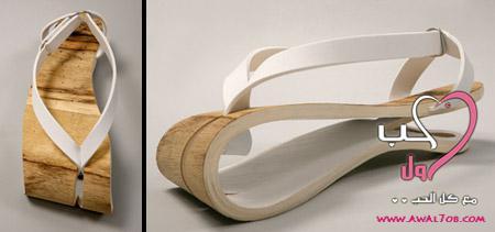 :icon_wink:بسم الله الرحمن الرحيم جايبة لكم احذية غريبة مرة شوفوها