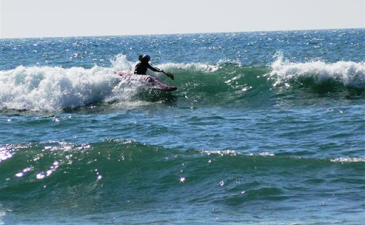 Naomi James Portugal Surf Kayaking Championship