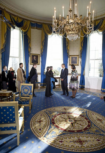 East Wing Rules Michelle S Favorite White House Room
