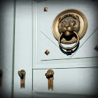 Lion knocker photo