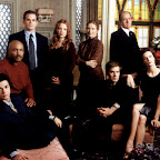 SIX FEET UNDER -- Pictured: (l-r) Freddy Rodriguez as Federico Diaz, Mathew St. Patrick as Keith Charles, Michael C. Hall as David Fisher, Lauren Ambrose as Claire Fisher, Frances Conroy as Ruth Fisher, Peter Krause as Nate Fisher, Richard Jenkins as Nathaniel Fisher, Rachel Griffiths as Brenda Chenowith -- Bravo Photo