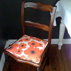 Newly Spruced Dining Room Chairs