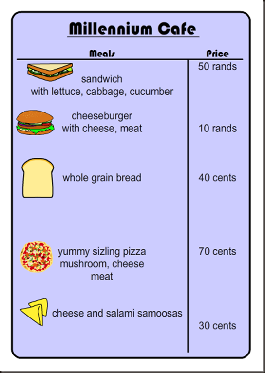 ahs menu