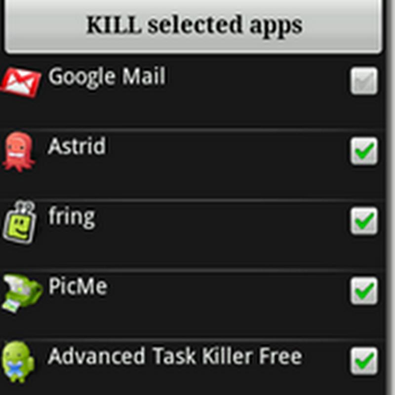 Fechar Aplicativos em segundo plano (Android)