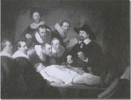 the anatomy lesson of dr tulp