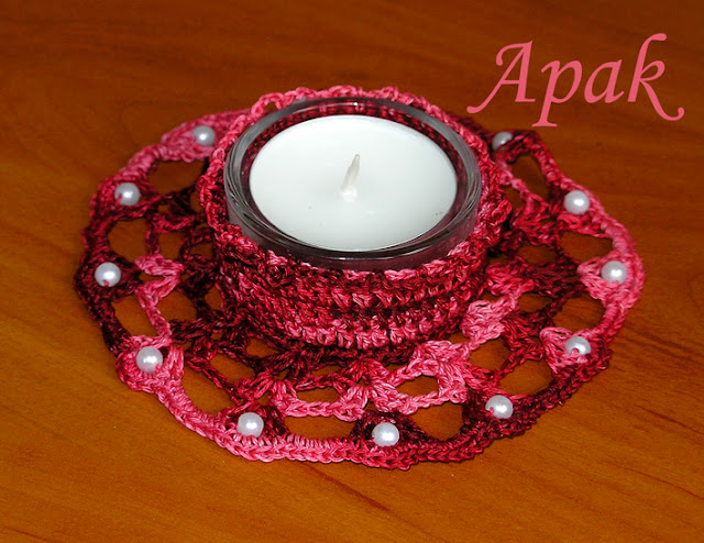 .الكرووووشي للشمووووووووع....تحفففففة Tealight%20red
