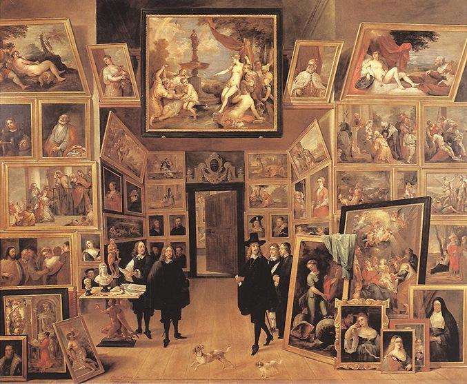 Téniers_-_L'Archiduc_Léopold-Guillaume_dans_sa_galerie_de_peinture_1647