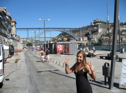 Learning Portuguese while visiting Porto
