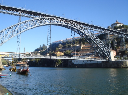 D. Luis Bridge in Porto