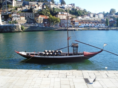 A boat in Douro