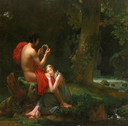 Robert Plant Conundrum - Daphnis and Chloe by Francois Gerard