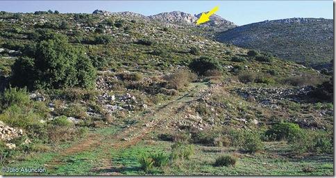 Localización de la Cova de Dalt