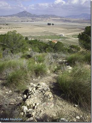 Panorámica desde el Puntal de Salinas