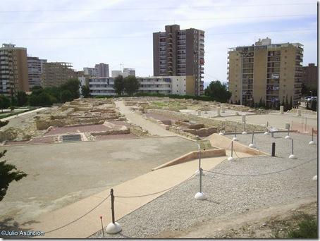 Vista desde el mirador de la ciudad ibero romana