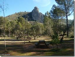 Área recreativa - ruta de la cova Negra - Játiva
