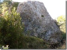 Gran roca - ruta Les Torrunades - Vall d´Ebo