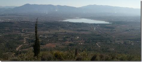 Vista del pantano desde la Penya Blanca - Valencia