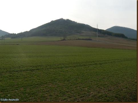 Castro de Urri - vista desde el norte - Ibiricu