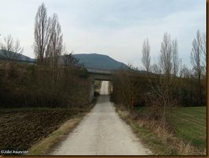 Paso bajo la carretera - ruta castro de Urri - Ibiricu