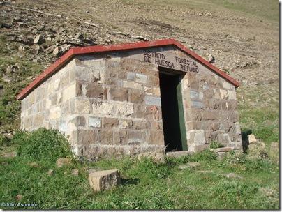 Refugio monte de la Cuta