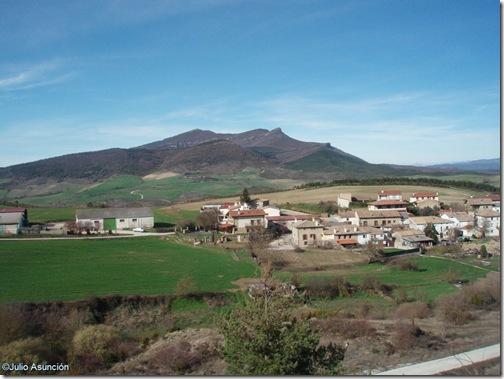 Izco y la Peña de Izaga - ruta de la sierra de Izco