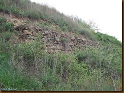 Muralla castro de Sansol - zona oeste