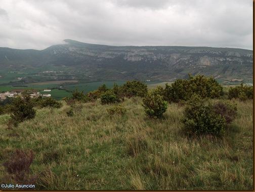 Panorámica desde el castro de Matxamendi - Ubani