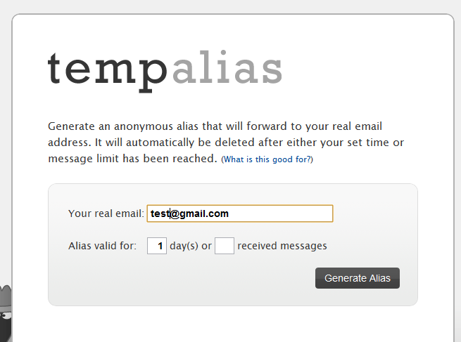 Real email addresses
