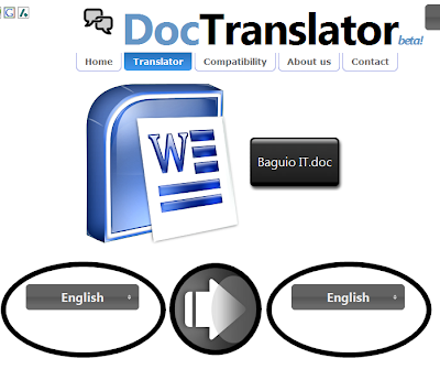Doc Translator, Translates Your Office Documents Online
