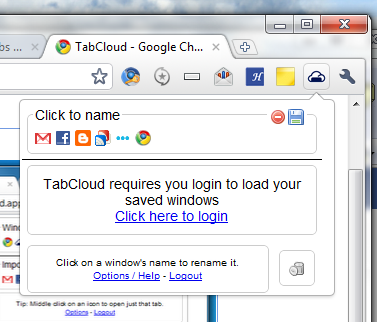 Save Tab Sessions in Firefox And Chrome Then Open It From Android Device With TabCloud
