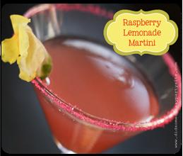 Raspberry Lemonade Martini copy