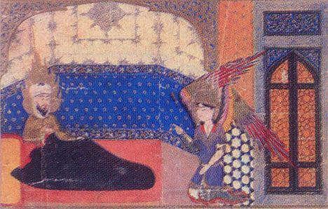 Archangel Gabriel: Angel Gibril and Mohammed in Turkish Miniatures