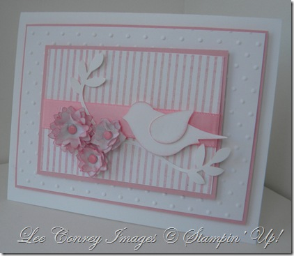 Pink and White Bird 002
