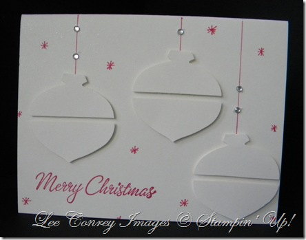 Shimmer White Ornaments 003
